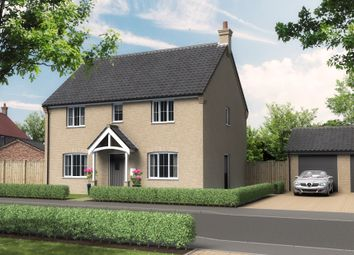 Thumbnail 4 bed detached house for sale in Beccles Road, Thurlton, Norwich
