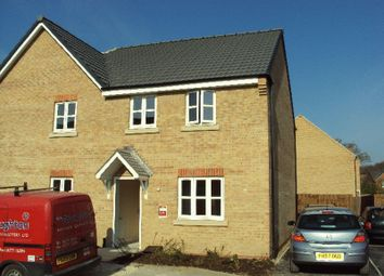 Thumbnail 3 bed semi-detached house to rent in Maximus Road, North Hykeham