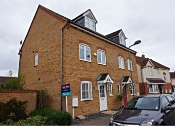 Thumbnail 3 bedroom town house to rent in Garwood Crescent, Milton Keynes