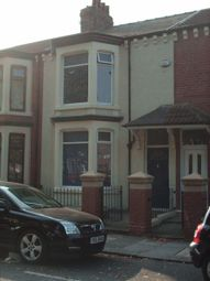 Thumbnail 5 bedroom terraced house to rent in Croydon Road, Middlesbrough