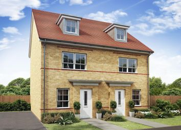 "Thumbnail 4 bed semi-detached house for sale in ""Kingsville"" at Tiber Road, North Hykeham, Lincoln"