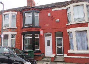 Thumbnail 3 bed terraced house to rent in Grasville Road, Birkenhead, Wirral