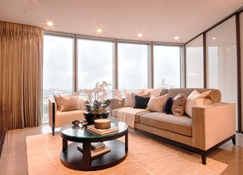 Thumbnail 1 bed flat to rent in The Tower, One St George Wharf, Nine Elms, London