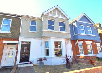 Thumbnail 3 bed terraced house for sale in Morehall Avenue, Folkestone