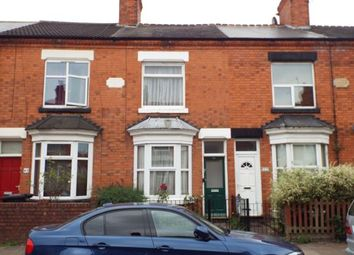 Thumbnail 3 bed terraced house for sale in Danvers Road, Leicester, Leicestershire, England