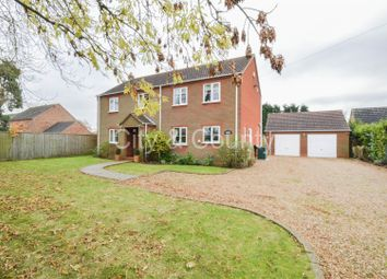 Thumbnail 3 bedroom detached house for sale in Front Road, Murrow, Wisbech