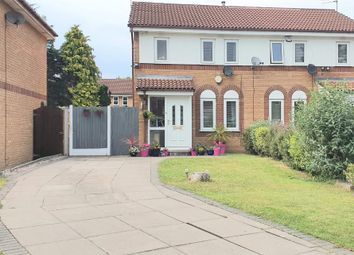 Thumbnail 3 bed semi-detached house for sale in Stoneyfield Close, Manchester
