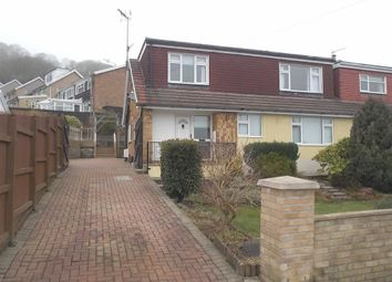 Thumbnail 3 bed semi-detached bungalow for sale in Coed Isaf Road, Maesycoed, Pontypridd