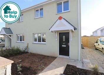 3 bed semi-detached house for sale in Halt Road, St. Newlyn East, Newquay TR8