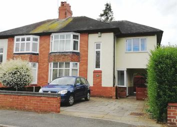 Thumbnail 4 bed semi-detached house for sale in Franklyn Avenue, Crewe, Cheshire