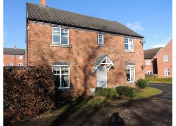Thumbnail 4 bed detached house for sale in Crecy Place, Lichfield