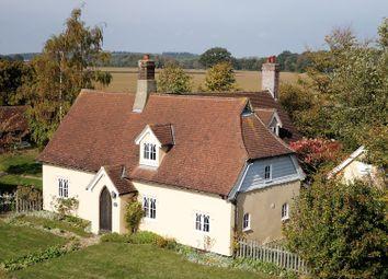 Thumbnail 4 bed cottage for sale in Felsham Road, Bradfield St. George, Bury St. Edmunds