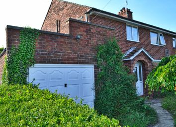 Thumbnail 4 bed semi-detached house for sale in Grange Road, Northwich