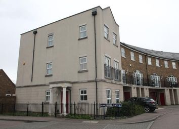Thumbnail 4 bed end terrace house for sale in Duncannon Place, Greenhithe, Kent