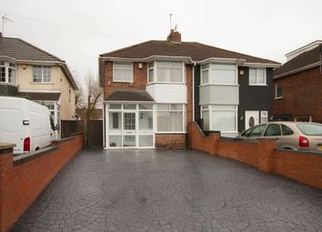 Thumbnail 3 bed semi-detached house for sale in Stubby Lane, Wednesfield, Wolverhampton