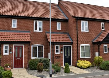 Thumbnail 2 bed terraced house for sale in Neptune Close, Bradwell, Great Yarmouth