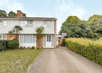 Thumbnail 3 bed semi-detached house for sale in Cricket Field Grove, Crowthorne, Berkshire