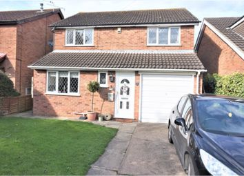 Thumbnail 4 bed detached house for sale in Woodhall Drive, Waltham