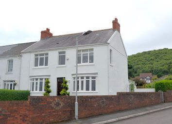 Thumbnail 4 bed end terrace house for sale in The Promenade, Penclawdd, Swansea