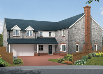 Thumbnail 5 bed detached house for sale in Squires Meadow, Lea, Ross-On-Wye, Herefordshire