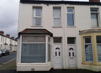 Thumbnail 3 bed end terrace house for sale in Ribble Road, Blackpool