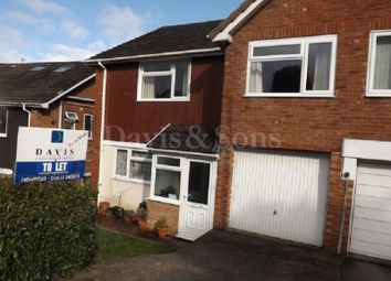 Thumbnail 3 bed semi-detached house to rent in Yewberry Lane, Malpas, Newport.
