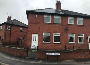 Thumbnail 2 bed semi-detached house to rent in Simpson Place, Mexborough