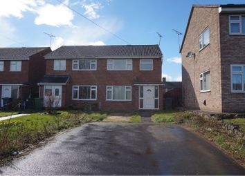 Thumbnail 3 bed semi-detached house for sale in Woodhall Close, Shrewsbury