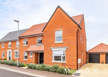 Thumbnail 5 bed detached house for sale in Prince Of Wales Drive, Aylsham, Norwich