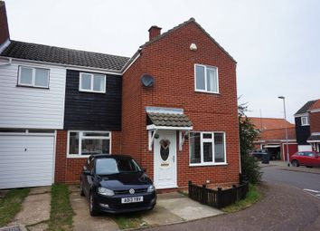 Thumbnail 3 bed end terrace house for sale in Clark Road, Ditchingham, Bungay