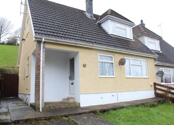 Thumbnail 3 bed semi-detached bungalow to rent in Bro Einon, Llanybydder, Carmarthenshire