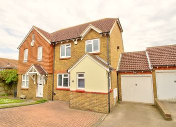 Thumbnail 3 bed semi-detached house for sale in Grandsire Gardens, Hoo, Rochester