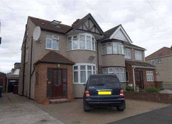 Thumbnail 4 bed semi-detached house for sale in Kingshill Drive, Harrow, Middlesex