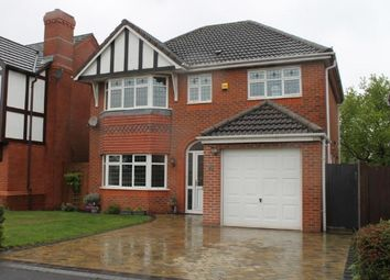 Thumbnail 4 bed detached house for sale in Pinfold Lane, Cheslyn Hay, Walsall