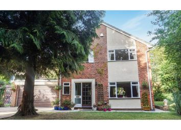 Thumbnail 4 bed detached house for sale in Hall Lane, Ridgewell