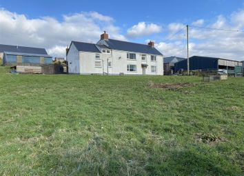 Thumbnail 5 bed country house for sale in Clomendy, Llangain, Carmarthen