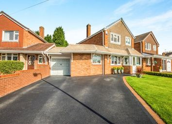 Thumbnail 3 bedroom detached house for sale in Wyvern Close, Willenhall, West Midlands