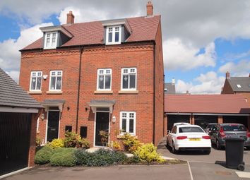 Thumbnail 3 bed semi-detached house to rent in Barnards Way, Kibworth Harcourt, Leicestershire