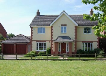 Thumbnail 5 bed detached house for sale in Worcester Close, West Haddon, Northampton