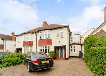 Thumbnail 4 bed semi-detached house to rent in Nelson Road, New Malden