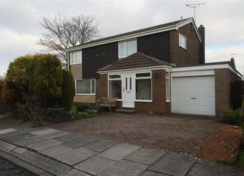Thumbnail 4 bed detached house for sale in Windburgh Drive, Southfield Lea, Cramlington