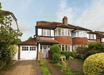 Thumbnail 4 bed semi-detached house for sale in Ashley Gardens, Ham, Richmond