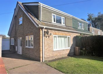 Thumbnail 3 bed semi-detached house for sale in Chapel Lane, Barnoldby - Le - Beck