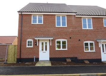 Thumbnail 3 bedroom semi-detached house for sale in Avocet Avenue, Hunstanton