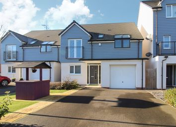 Thumbnail 4 bedroom detached house for sale in Spencer Way, Newport