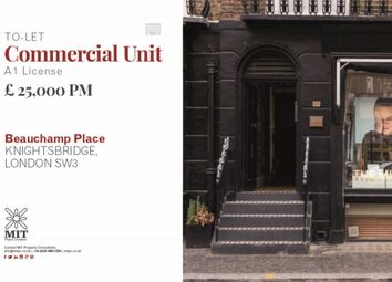 Thumbnail Industrial to let in Beauchamp Place, London