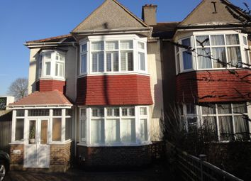 Thumbnail 4 bed semi-detached house to rent in Shirley Road, Croydon