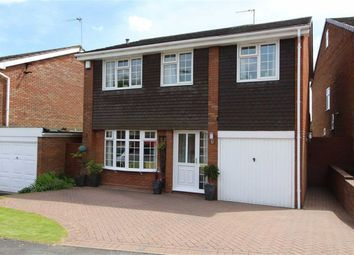 Thumbnail 4 bed detached house for sale in Chevening Close, Off Richmond Road, Sedgley