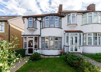 Thumbnail 3 bed end terrace house for sale in The Meads, Cheam, Surrey
