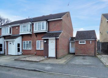 Thumbnail 2 bed end terrace house for sale in Halleys Way, Houghton Regis, Dunstable